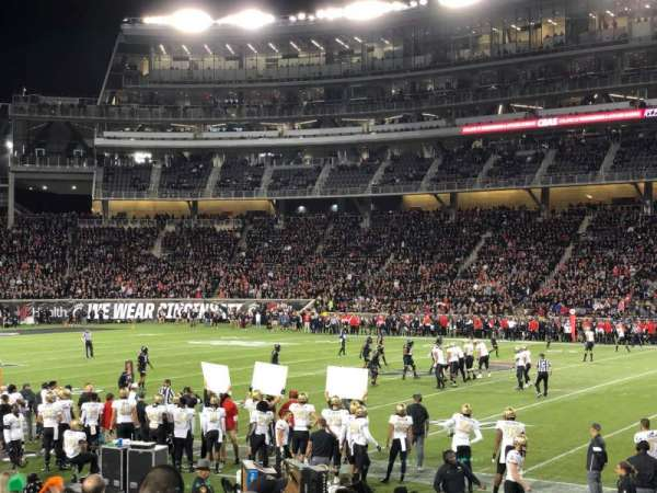 Nippert Stadium, section: 104, row: 15, seat: 8