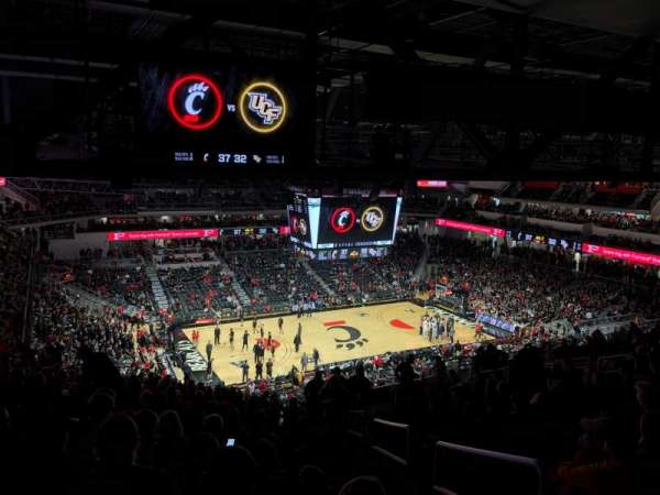 Fifth Third Arena, section: 219, row: 20, seat: 1