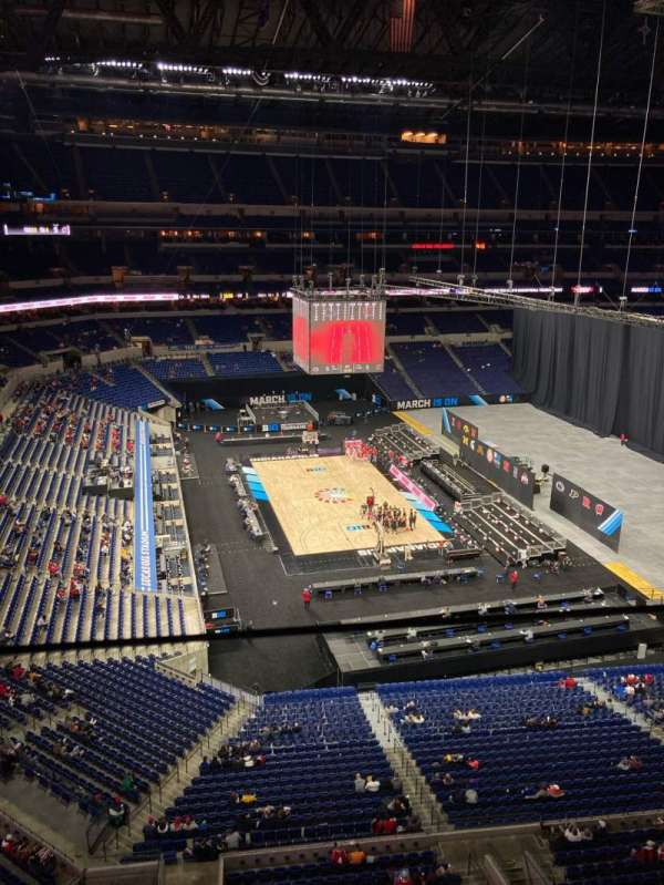 Lucas Oil Stadium, section: 518, row: 1, seat: 16