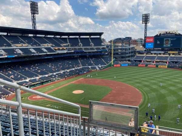 PNC Park, section: 307, row: C, seat: 28