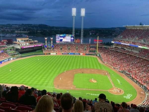 Great American Ball Park, section: 518, row: R, seat: 22