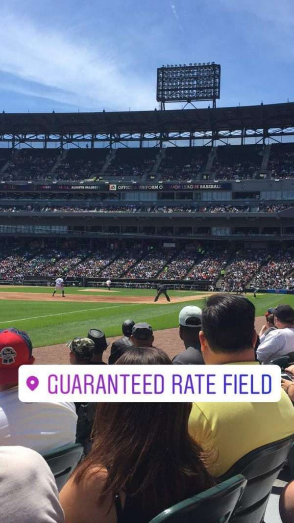Guaranteed Rate Field, section: 149, row: 3, seat: 5