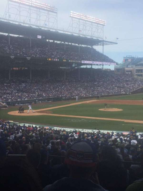 Wrigley Field, section: 225, row: 7, seat: 17