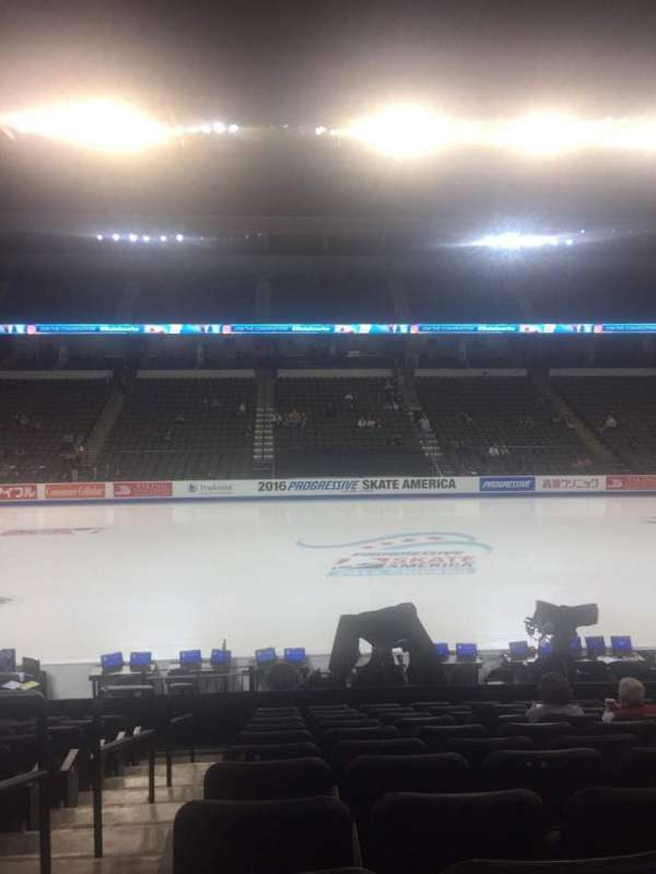 Now Arena, section: C102, row: 16, seat: 1