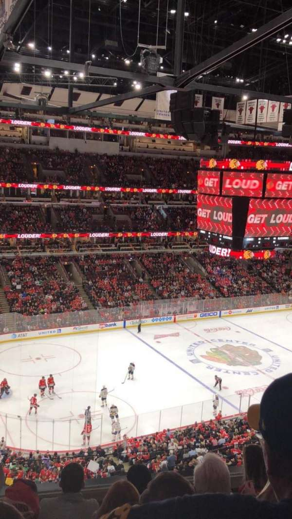 United Center, section: 304, row: 5, seat: 1