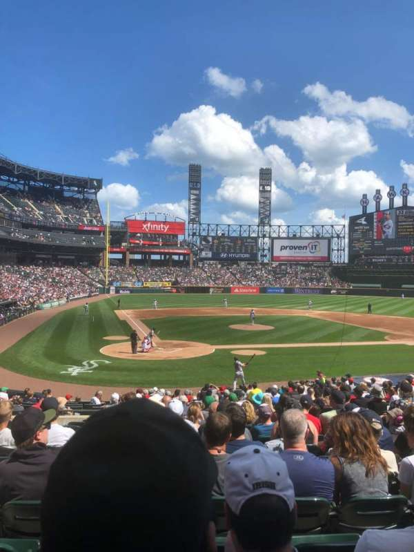Guaranteed Rate Field, section: 129, row: 25, seat: 7
