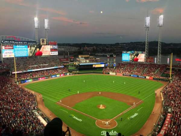 Great American Ball Park, section: 523, row: N, seat: 18