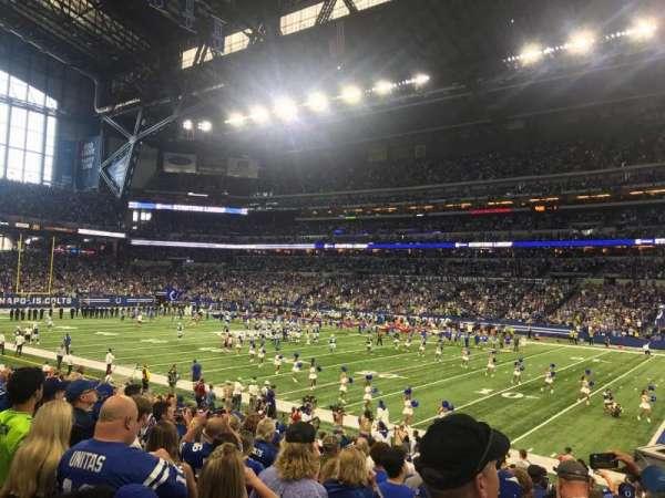 Lucas Oil Stadium, section: 136, row: 17, seat: 8