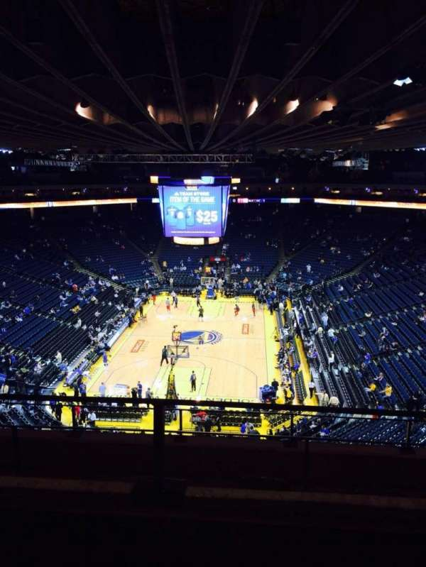 Oakland Arena, section: 224, row: 2, seat: 4