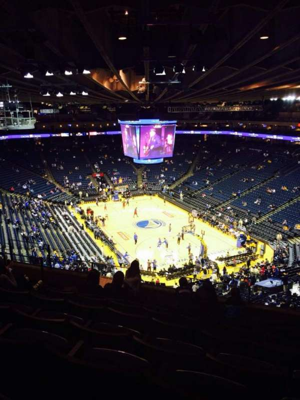 Oracle Arena, section: 227, row: 8, seat: 6