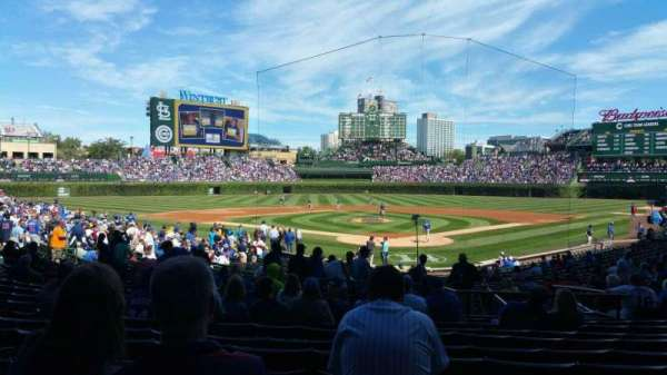 Wrigley Field, section: 117, row: 14, seat: 10