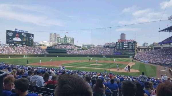 Wrigley Field, section: 115, row: 15, seat: 2