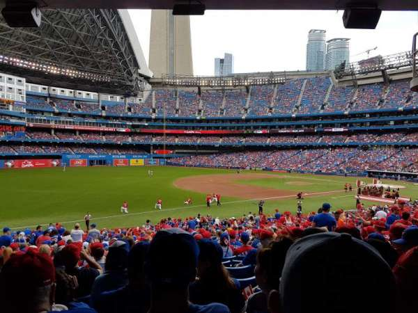 Rogers Centre, section: 130AL, row: 35, seat: 119