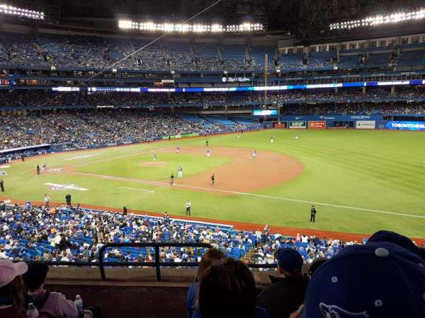 Rogers Centre, section: 215R, row: 5, seat: 1