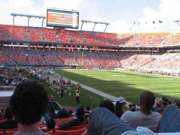 Hard Rock Stadium, section: Old 131, row: 17, seat: 8