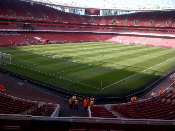 Emirates Stadium, section: Block 69, row: 6