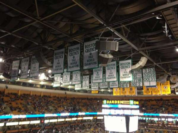TD Garden, section: Bal 305, row: 5, seat: 10