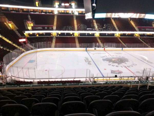 Quicken Loans Arena, section: C124, row: 25, seat: 9