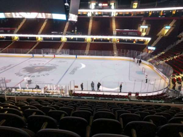 Quicken Loans Arena, section: C127, row: 25, seat: 9