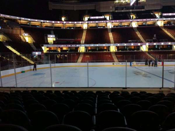 Quicken Loans Arena, section: 124, row: 11, seat: 10