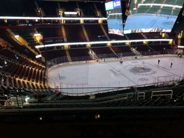 Rocket Mortgage FieldHouse, section: D412, row: 2, seat: 4
