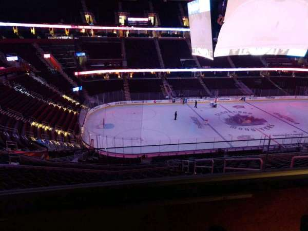 Rocket Mortgage FieldHouse, section: D410, row: 2, seat: 3