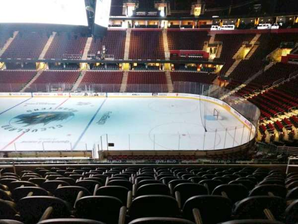 Quicken Loans Arena, section: C127, row: 25, seat: 8