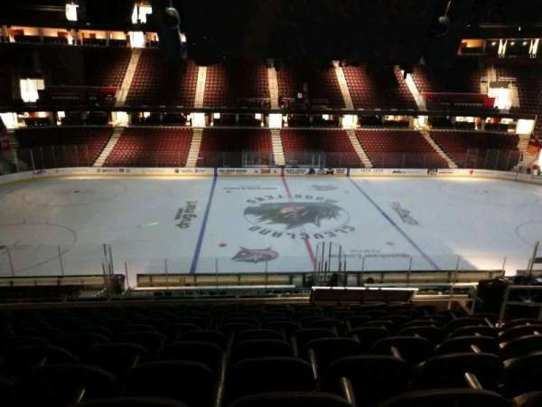 Quicken Loans Arena, section: C125, row: 25, seat: 10