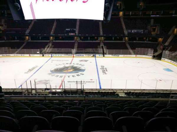 Quicken Loans Arena, section: C109, row: 25, seat: 9