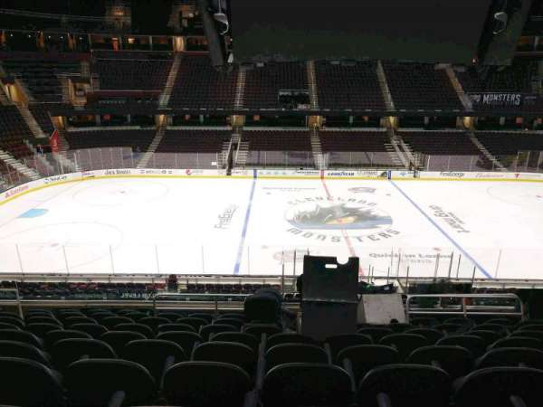 Quicken Loans Arena, section: C108, row: 25, seat: 9