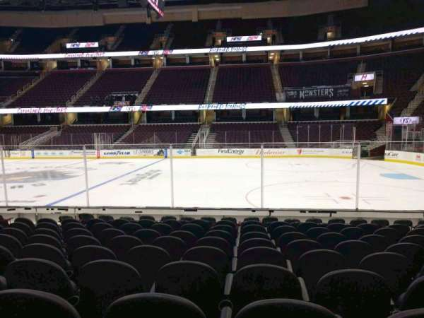 Quicken Loans Arena, section: 110, row: 11, seat: 10