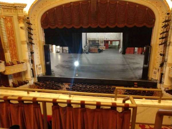 Keybank State Theatre Section Loge