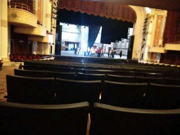 KeyBank State Theatre, section: Orchestra L, row: EE, seat: 114