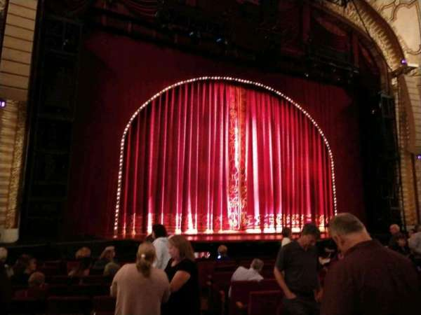 Connor Palace, section: Dress Circle, row: P, seat: 201