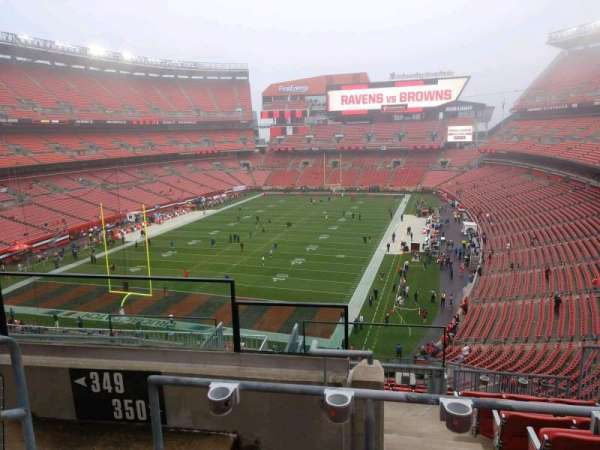 FirstEnergy Stadium, section: 350, row: 15, seat: 3