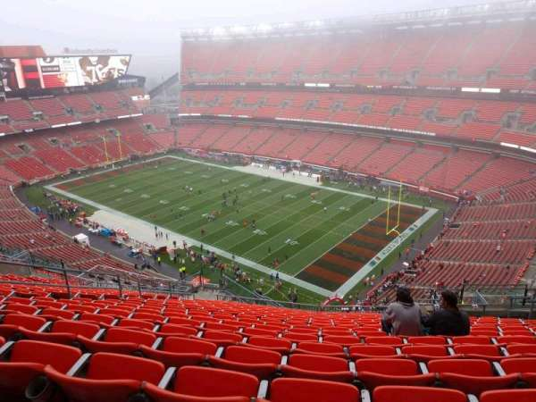 FirstEnergy Stadium, section: 540, row: 22, seat: 12
