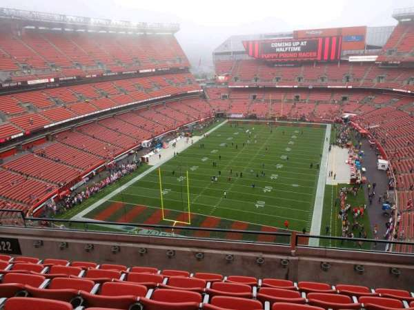 FirstEnergy Stadium, section: 622, row: 6, seat: 12
