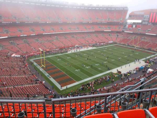 FirstEnergy Stadium, section: 502, row: 9, seat: 6