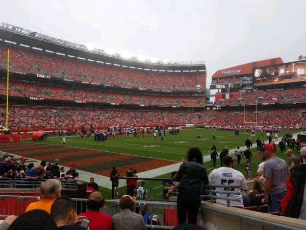 FirstEnergy Stadium, section: 101, row: 9, seat: 17