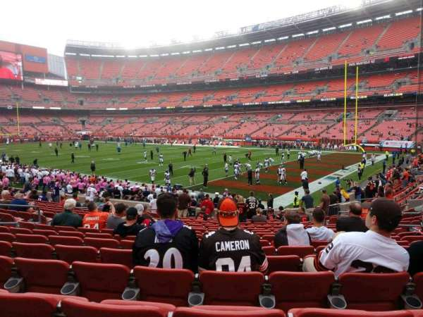 FirstEnergy Stadium, section: 115, row: 17, seat: 14