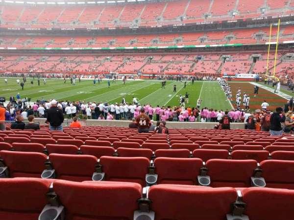 FirstEnergy Stadium, section: 112, row: 17, seat: 12