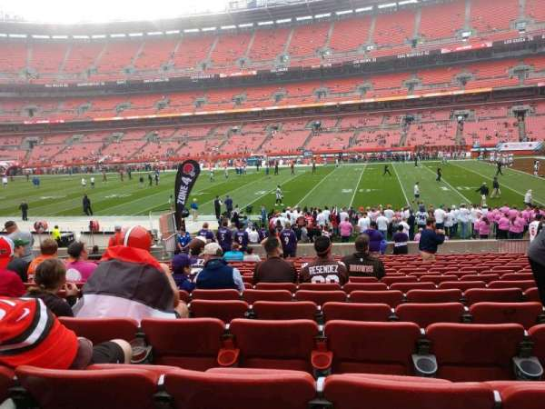 FirstEnergy Stadium, section: 111, row: 17, seat: 11