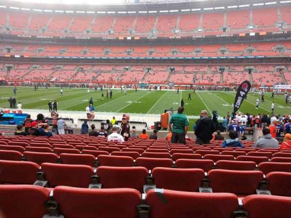 FirstEnergy Stadium, section: 110, row: 16, seat: 13