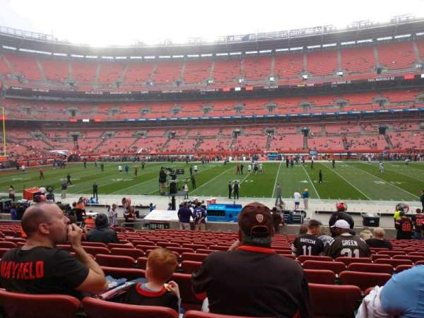 FirstEnergy Stadium, section: 109, row: 17, seat: 12