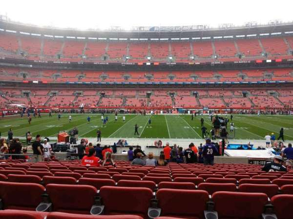 FirstEnergy Stadium, section: 108, row: 17, seat: 12