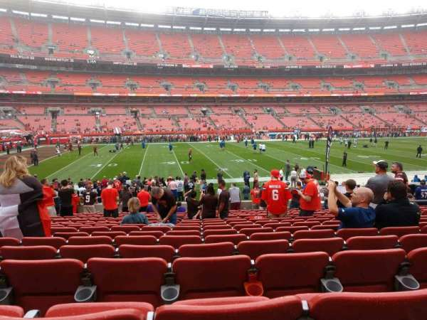 FirstEnergy Stadium, section: 106, row: 17, seat: 12