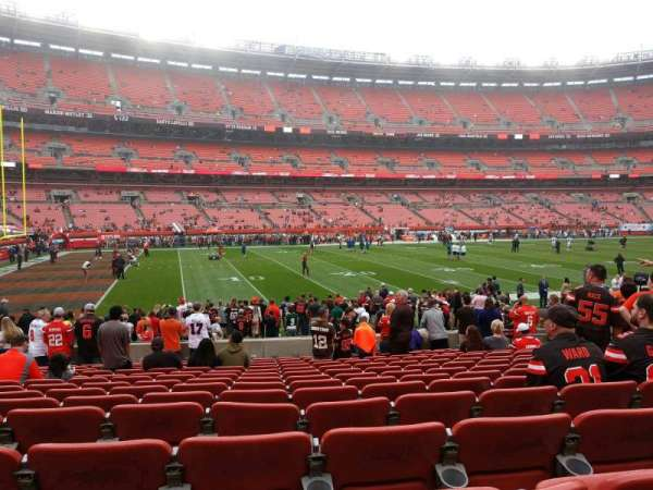 FirstEnergy Stadium, section: 105, row: 14, seat: 12