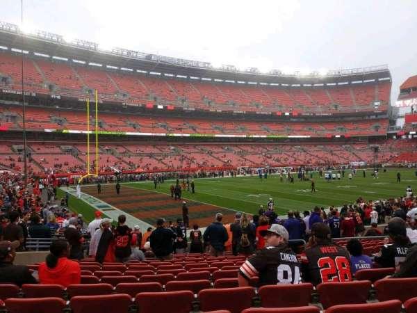 FirstEnergy Stadium, section: 102, row: 14, seat: 14