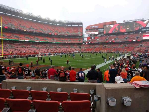 FirstEnergy Stadium, section: 101, row: 14, seat: 12
