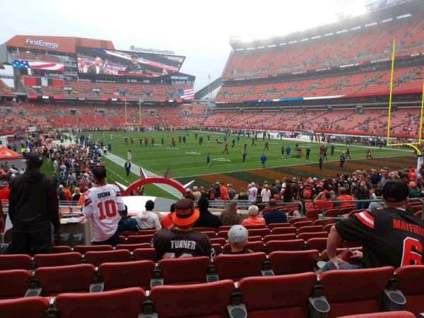 FirstEnergy Stadium, section: 144, row: 18, seat: 7